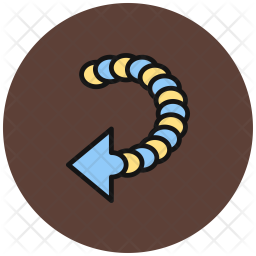 Back, Move, Direction, Pointer-arrow Icon