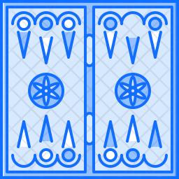 Backgammon board Icon