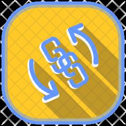 Backlink Icon