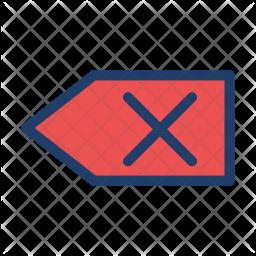 Backspace Logo Icon