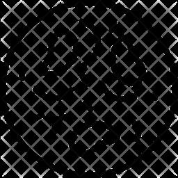 Bacteria Line Icon