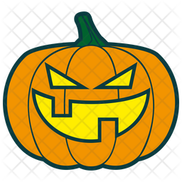 Bad Pumpkin Icon
