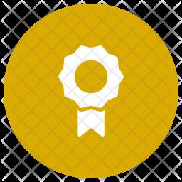 Badge Glyph Icon