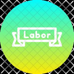Badge Line Icon