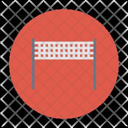 Badminton Net Icon
