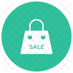 Bag Glyph Icon