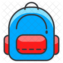 Bag Colored Outline Icon