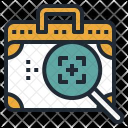 Bag Investigation Icon