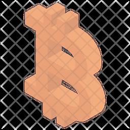 Baht Icon