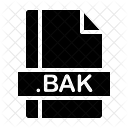 Bak Glyph Icon