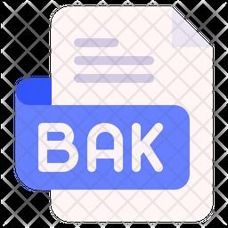 Bak Flat Icon
