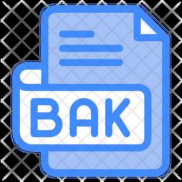 Bak File Dualtone Icon