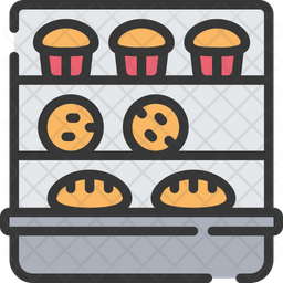Bakery stand Icon