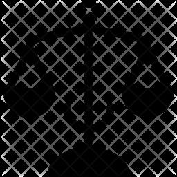 Balance Glyph Icon