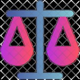 Balance Gradient Icon