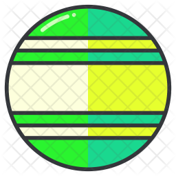 Ball Colored Outline Icon