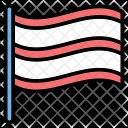 Ballot flag Icon