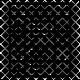 Ballot paper Line Icon