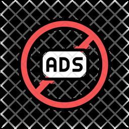 Ban Advertising Icon