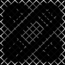 Band Aid Glyph Icon