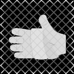 Bandaged hand Icon
