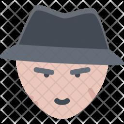 Bandit, Bandits, Crime, Mafia Icon