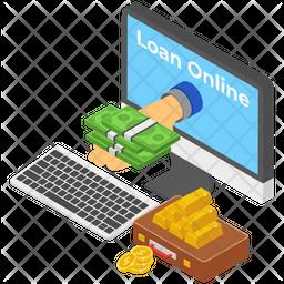 Bank Loan Icon