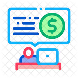 Bank Office Worker Icon Of Colored Outline Style Available In Svg Png Eps Ai Icon Fonts
