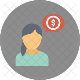 Banker Rounded Icon