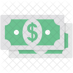 Banknote Flat Icon