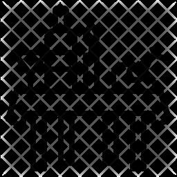 Banquet Line Icon