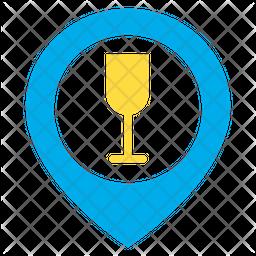 Bar Map Icon