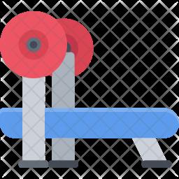 Barbell press Icon