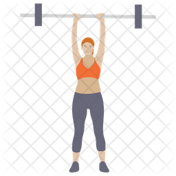 Barbells Exercise Icon