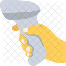 Barcode Scanner Flat Icon