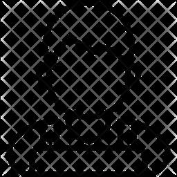 Barista Line Icon