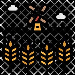 Barley Field Icon