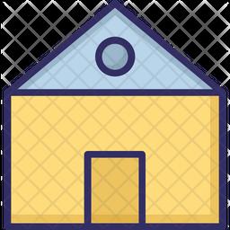 Barn house Icon