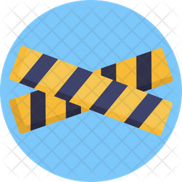 Barrier Flat Icon