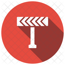 Barrier Glyph Icon