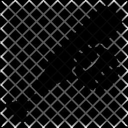Baseball Glyph Icon