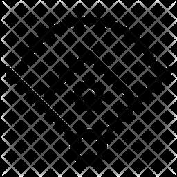 Baseball Field Line Icon