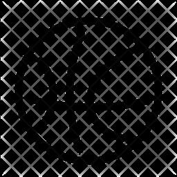 Basektball Line Icon
