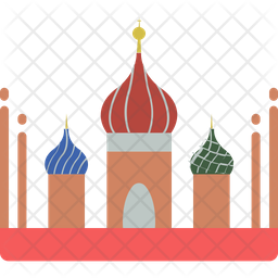 Basils Cathedral Icon