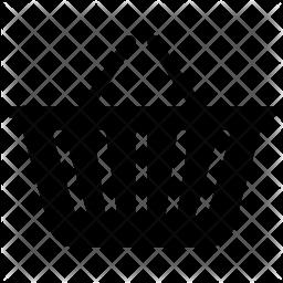 Basket Glyph Icon