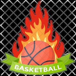 Basketball Flaming Icon png