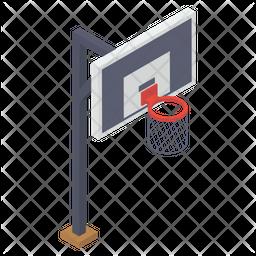 Basketball Goal Icon