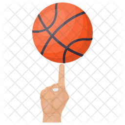 Basketball Spinning Icon png