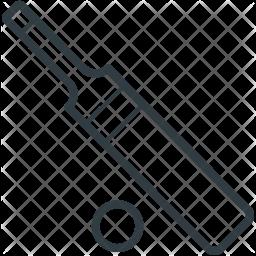 Bat Line Icon