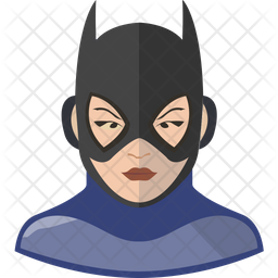 Bat Girl Icon